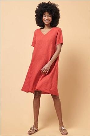 La Fee Maraboutee γυναικείο λινό mini φόρεμα