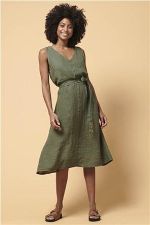 La Fee Maraboutee γυναικείο λινό φόρεμα σε Α γραμμή