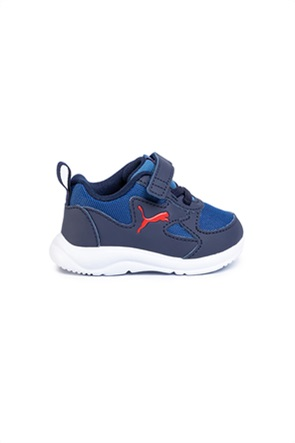 Puma βρεφικά αθλητικά παπούτσια Running με logo print ''Fun Racer''