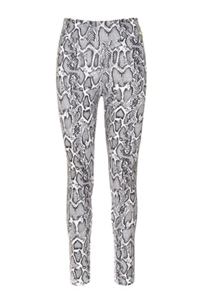 Kendall + Kylie White γυναικείο κολάν με all-over snakeskin print