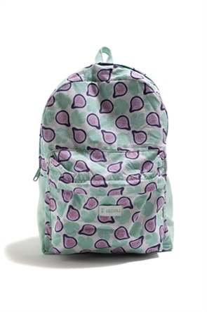 """Tiki tiki παιδικό backpack με all-over print """"Pink Fig"""""""