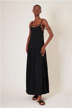 "Ghospell γυναικείο maxi φόρεμα με τιράντες ""Castle"""