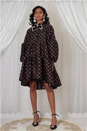 "Sister Jane γυναικείο midi φόρεμα oversized με floral print ""Trinket"""