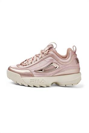 Fila γυναικεία chunky sneakers μεταλλιζέ ''Disruptor''