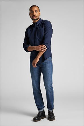 Lee ανδρικό πουκάμισο με button-down γιακά