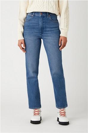 "Wrangler γυναικείο τζην παντελόνι ψηλόμεσο ""Wild West"" Regular Fit"