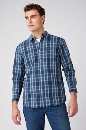 """Wrangler ανδρικό πουκάμισο με καρό σχέδιο """"One Pocket Regular Fit"""""""