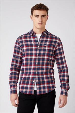 """Wrangler ανδρικό πουκάμισο με καρό σχέδιο """"One Pocket Slim Fit"""""""