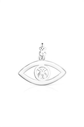 TOUS γυναικείο μενταγιόν μάτι TOUS Good Vibes από Ασήμι