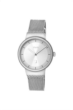 TOUS γυναικείο ρολόι Rond Mesh από Ατσάλι