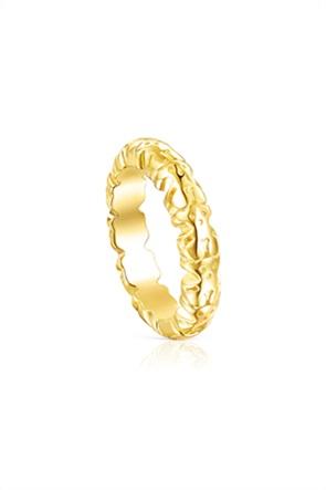 TOUS γυναικείο δαχτυλίδι Straight XL από Ασήμι Vermeil