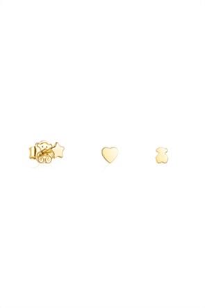 TOUS σετ σκουλαρίκια Cool Joy από ασήμι vermeil