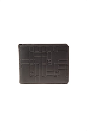 Delsey ανδρικό πορτοφόλι με ανάγλυφο σχέδιο ''Echappée''