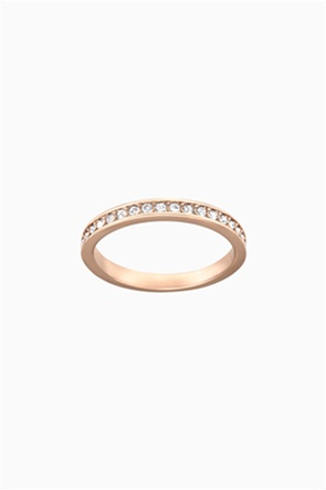Swarovski Rare Ring, White, Rose-gold tone plated