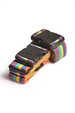 "Travel Blue διπλός ιμάντας βαλίτσας ""Multicolor Rainbow"""