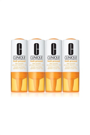 Clinique Fresh Pressed™ Daily Booster with Pure Vitamin C  4 x 8.5 ml